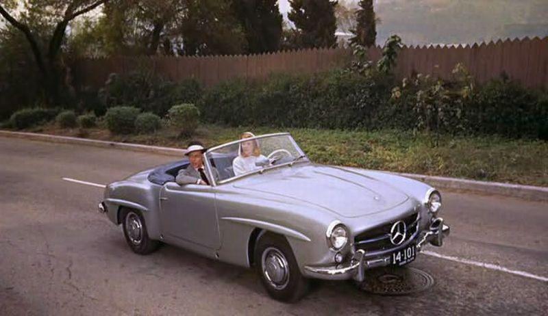 Mercedes_SL_Filmes_High_Society_com_Sinatra