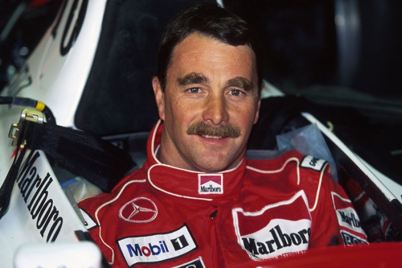 Nigel_Mansell_1995_McLaren